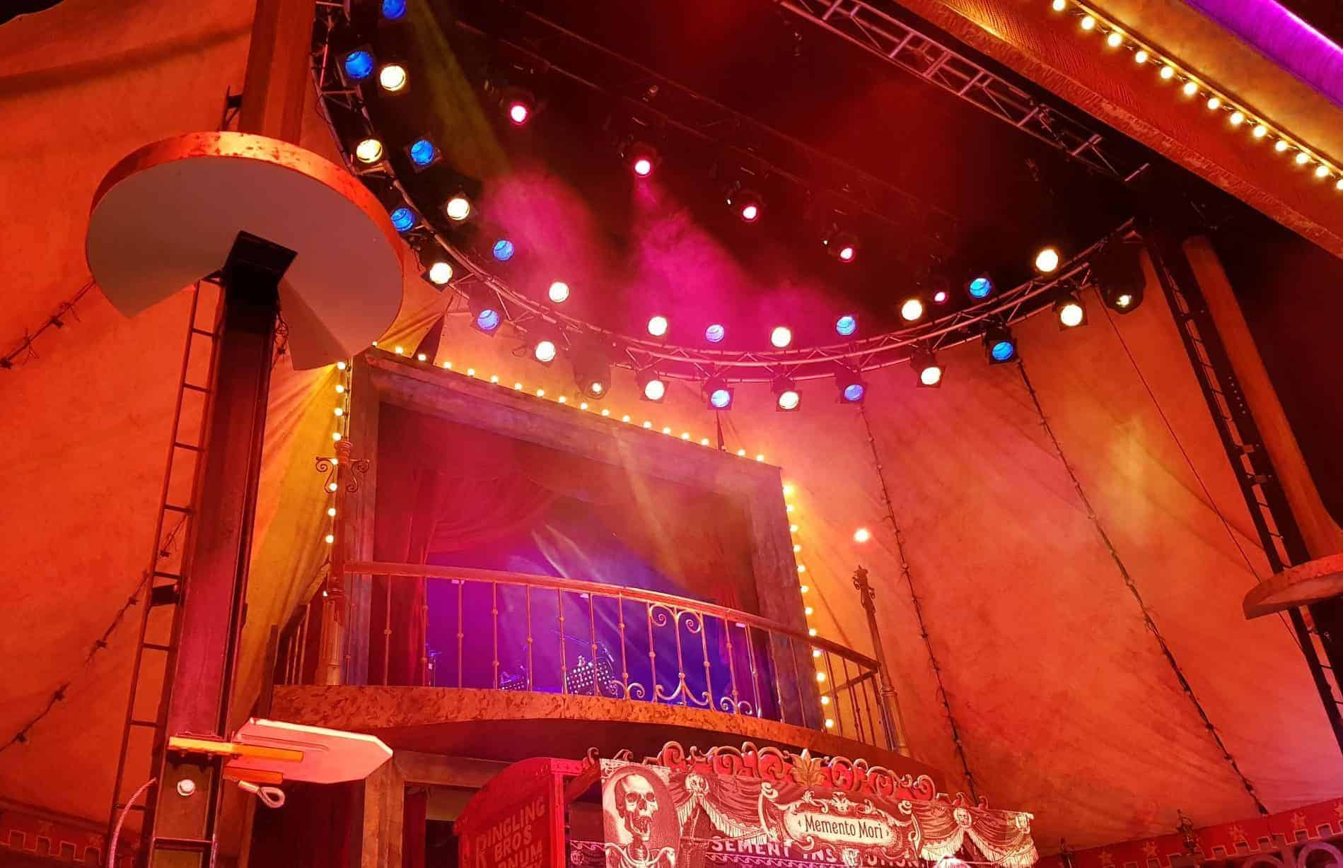 Understand the significance of proper lighting in a theater show