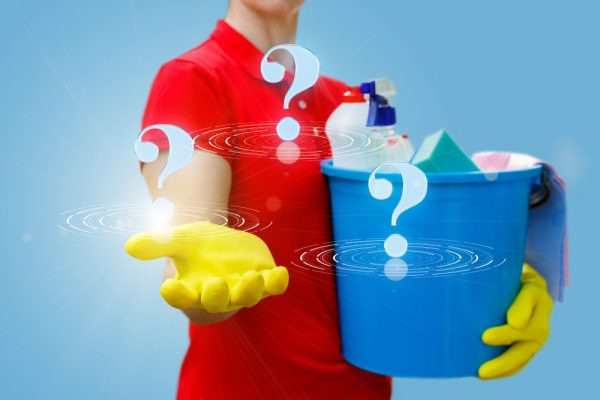Questions and answers related to cleaning services