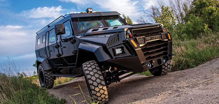 Features of armored cars
