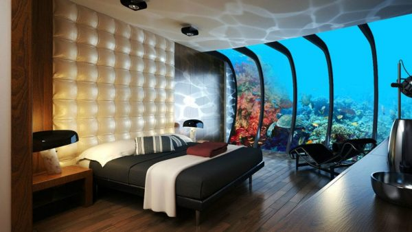Interior design ideas with a technological flow